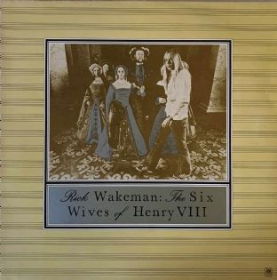 Rick Wakeman ‎- The Six Wives Of Henry VIII (LP) (VG/VG-)